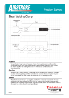 Sheet Welding Clamp