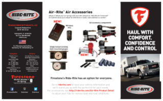 Ride-Rite Product Brochure